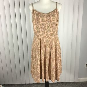 Old Navy Sundress in a peach print